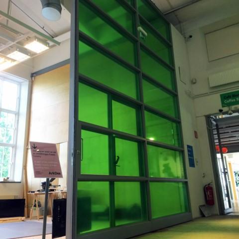 Foliering och fönsterdekor Moderna Museét av Swedekor i Stockholm